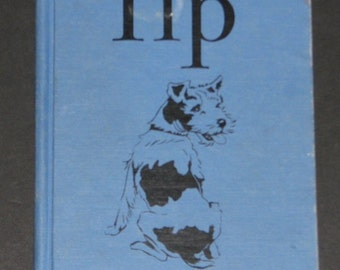 1957 Tip - wire fox terrier - 1st pre-primer from Tip and Mitten series