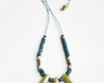 Tribal Necklace, Boho Necklace, Gift for Her, Long Necklace