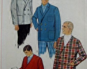Simplicity Men's Pattern 7398  Jackets Informal Town Ware  Size 40