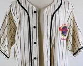 SALE - Vintage Baseball Jersey Hard Rock Cafe Phoenix Rocker Athletic Shirt - Mens Size XL