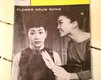 Playbill, Flower Drum Song, Broadway,