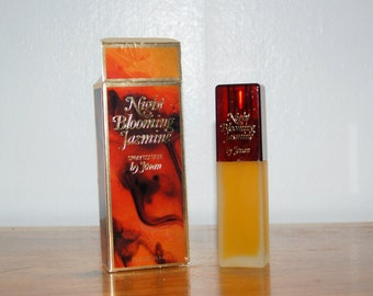 Vintage Jovan Night Blooming Jasmine Spray Cologne 1.5 oz ~ New in Open Box ~ NOS ~ Launched in 1979