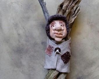 Arthur - Art Doll - Spirit Doll - Woodland Troll