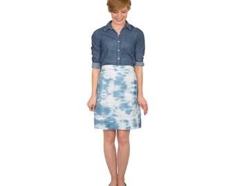 SALE Blue Skies Skirt