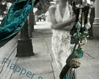 Flapper sari