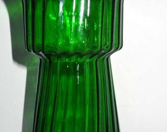 Green Glass Flower Vase Home & Garden Home Décor Vase Flower Vase Glass