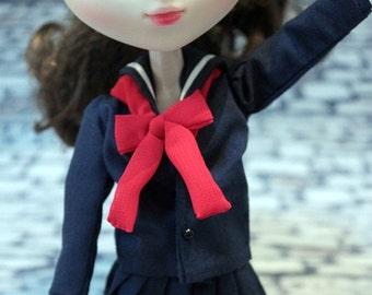 School uniform  Pullip,1/6
