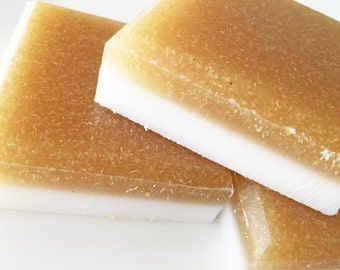 Soap, Coconut Macaroon Loofah Soap, Exfoliating Soap Bar, Luffa Soap, Loofah Soap, Scrub Soap, Coconut, Vanilla, Macaroon, Soap