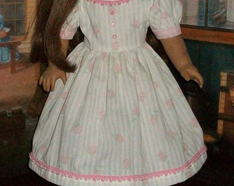 18inch Girl Doll 1800's Day Dress styled for the Early Teen