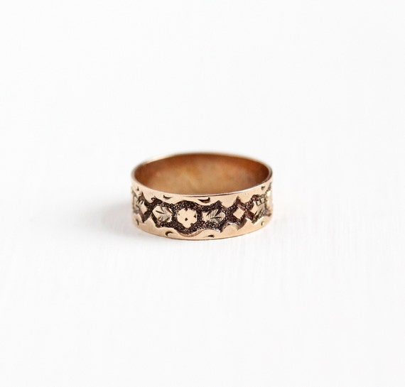 sale antique 10k gold baby ring size 3 4