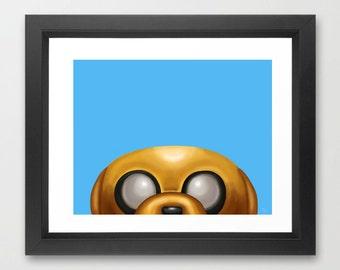 Jake the Dog Adventure Time Art Print