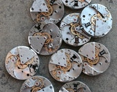 Vintage Watch Movements -- identical -- set of 10 -- D14