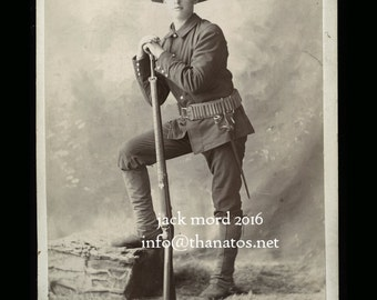 1890s Soldier by Important Southern Photographer