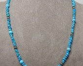 CAROLYN POLLACK Relios Sterling & Turquoise Nugget Necklace
