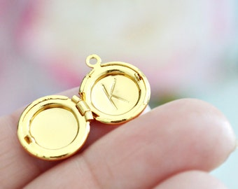 Letter Stamping Service - Add any 1 large initial to any locket