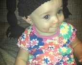 Crochet Cabbage Patch Hat 6-12 Months