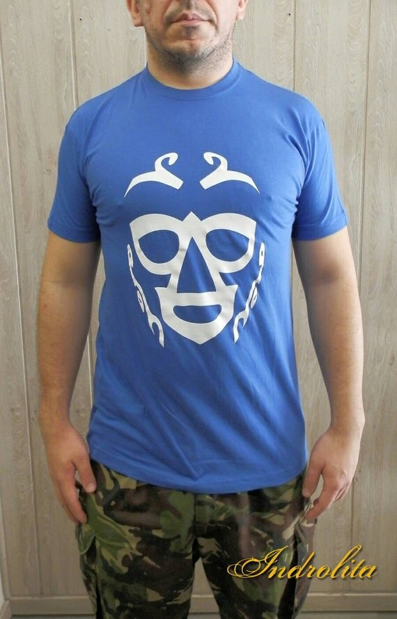 SALE Camiseta Luchador, Lucha Libre, WWE, Mexican, Mask