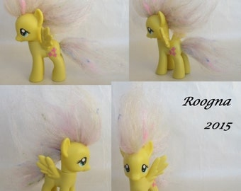 Custom Rehaired Puff Pegasus My Little Pony G4 FiM Friendship is Magic Fluttershy