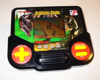 Vintage Jurassic Park Tiger Electronics Handheld Video Game 1993
