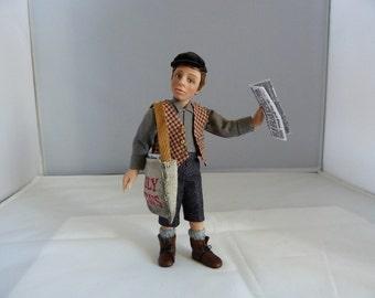 Georgie the newsboy by Jo Med
