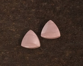 Willow Creek Jasper - Pair of Triangle Cabochons