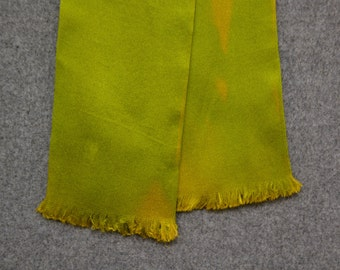 1950s Chartreuse Neck Tie Scarf