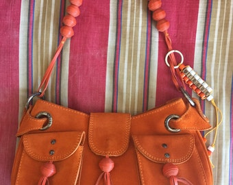 Vintage VERSUS Saddle Handbag