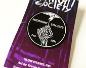 MIDNIGHT SOCIETY - Glow Soft Enamel Pin