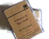 Tobacco & Bay Leaf - Soy Wax Melts - Soy Wax Tarts - Delicate by Nature
