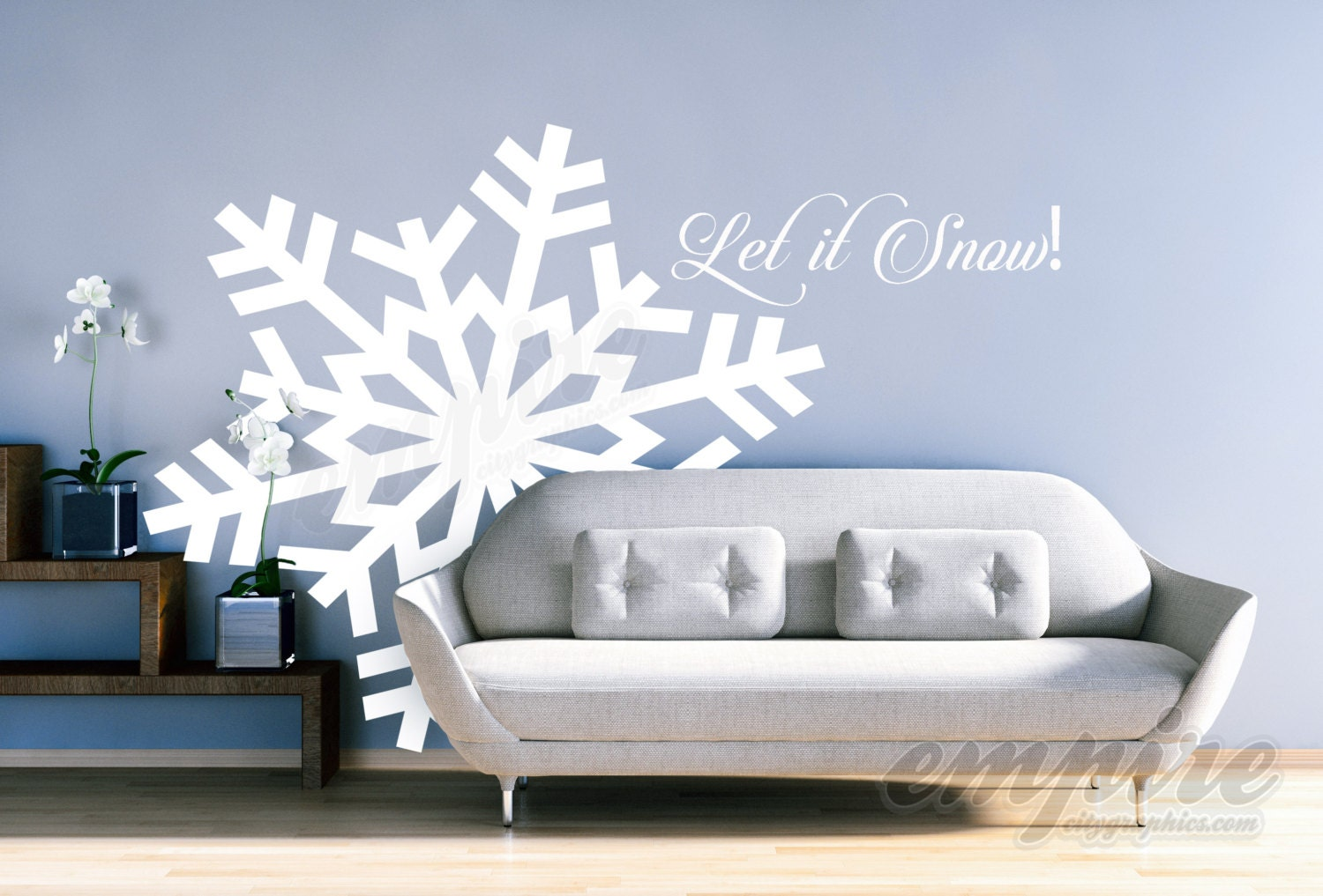 Large snowflake decals giant snowflakes holiday decals let it large snowflake decals giant snowflakes holiday decals let it snow decal frozen decals snow wall decals let it go decals frozen decor amipublicfo Gallery
