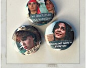 "80s Quotes 1"" Button Choose Your Own"