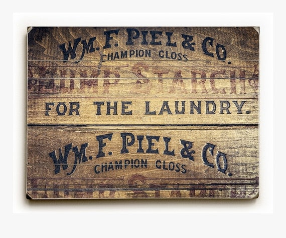 wood sign laundry room decor rustic laundry room art