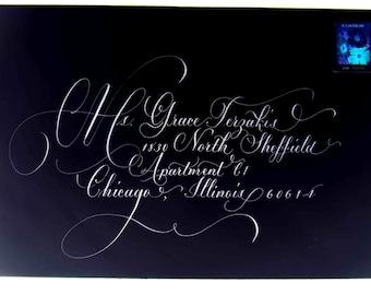 Address Invitations. Wedding Envelopes