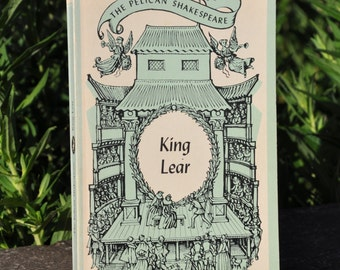 King Lear by William Shakespeare Penguin Books 1964, theater, play, classic literature