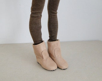 Pre Order: Suede boots for Minifee