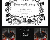 """RESERVED Installment listing for """"CARLA DAVIS""""- Third Installment/Balance for """"Wicked Witch w/Ruby Shoes Wreath"""" Halloween 2016 Delivery"""