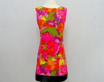 Vintage 60s Dress - Mod - Vintage Dress - 1960s