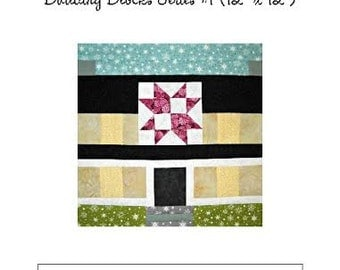 Curlicue Creations House Quilt Block Pattern, Building Blocks Series #1