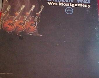 Wes Montgomery Movin' Wes Verve V 8610 Original fat cut vintage vinyl jazz guitar record 60s NM-