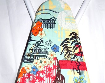 Ironing Board Cover - Koto Asian Print fabric by Alexander Henry