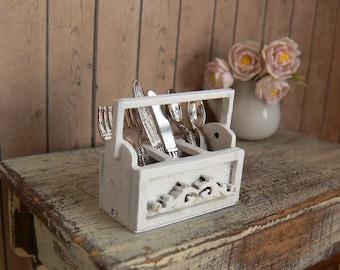 cutlery holder for dollhouse - miniatures