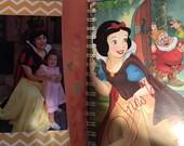 Disney Honeymoon Autograph Book - Disney Wedding - Honeymoon Journal