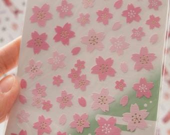 Japanese Cherry Blossoms Sticker (1 Sheet) - 75327