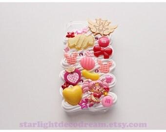 Sailor Chibimoon Chibiusa Sweets n' Cream iPhone 5S Deco Decoden Case for Kawaii Fairy Kei or Cute Style