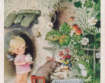 Vintage German Postcard (1484 1) -- 1950s. Condition 9/10