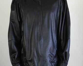 shiny new wave jacket - L