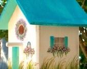 Coastal Cottage, Decorative Birdhouse