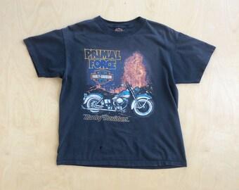 Vintage Harley Davidson Motorcycles Las Vegas Nevada Casino T-Shirt