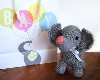 PATTERN: Elephant Crochet Amigurumi