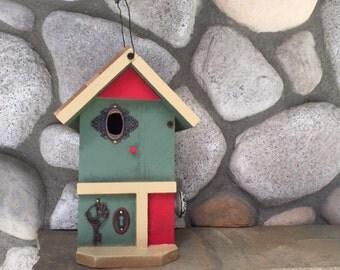 Birdhouse, Decorative Bird House Functional For Bird's Nest, Garden Birdhouses, Bird Supply, Item#BH06986